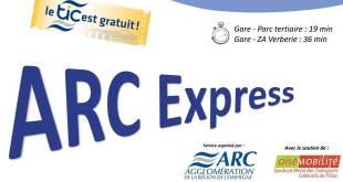 Arc Express entre Verberie et Compiègne