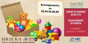 Bourse aux jouets @ Espace Dagobert | Verberie | Hauts-de-France | France