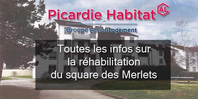 Réhabilitation du Square des Merlets : les documents sont en ligne
