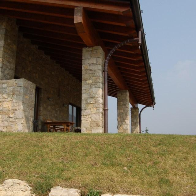 Villa in pietra di Credaro