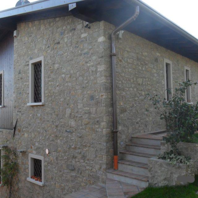 Villa in pietra naturale