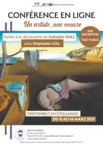 Conférence en ligne : Salvador Dali raconté par Stéphanie Vial