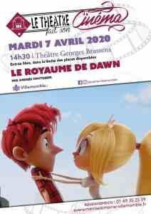 """ANNULÉ // Cinéma : """"Le royaume de Dawn"""" @ Théâtre Georges Brassens"""