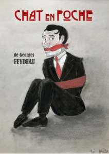 ANNULÉ // Théâtre : Chat en poche de Georges Feydeau @ Théâtre G.Brassens