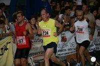 Atletas villenenses en plena carrera