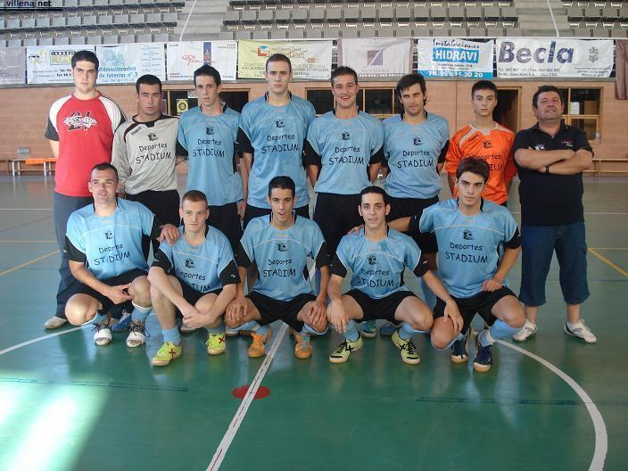 Equipo de futbol sala de Villena.