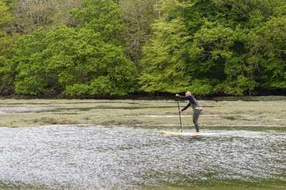 Christian GERMAIN - Paddle quand la mer monte - le Conquet - Finistère