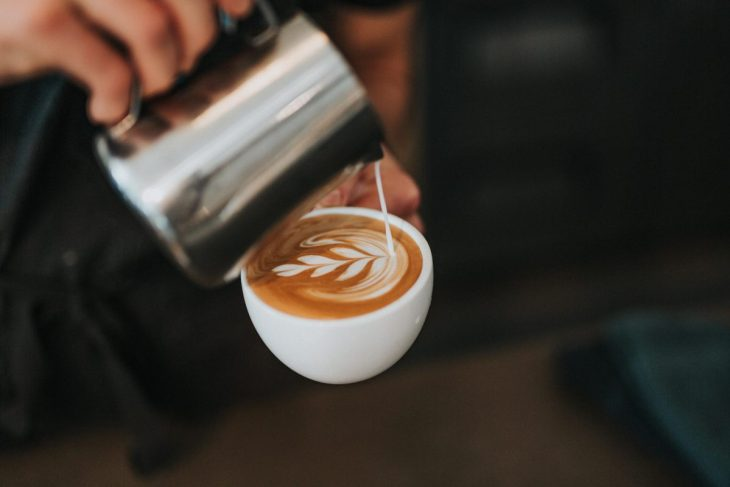 Barista and cofee art