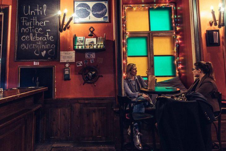 Interior of Salionas bar