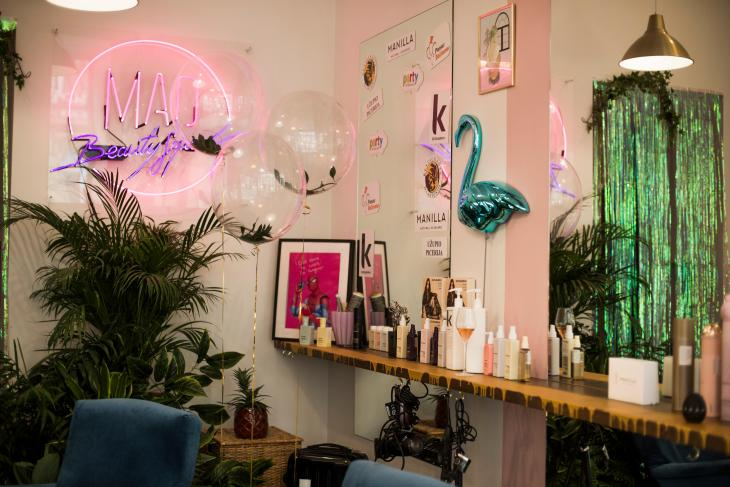 Mad Beauty Squad salon in Vilnius