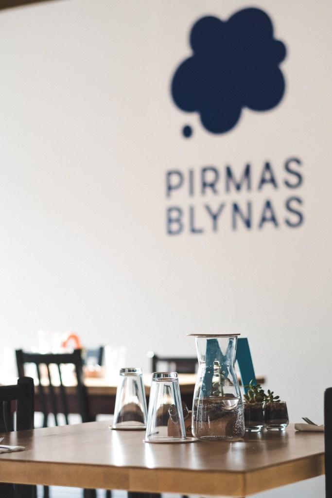 Pirmas blynas cafe in Vilnius