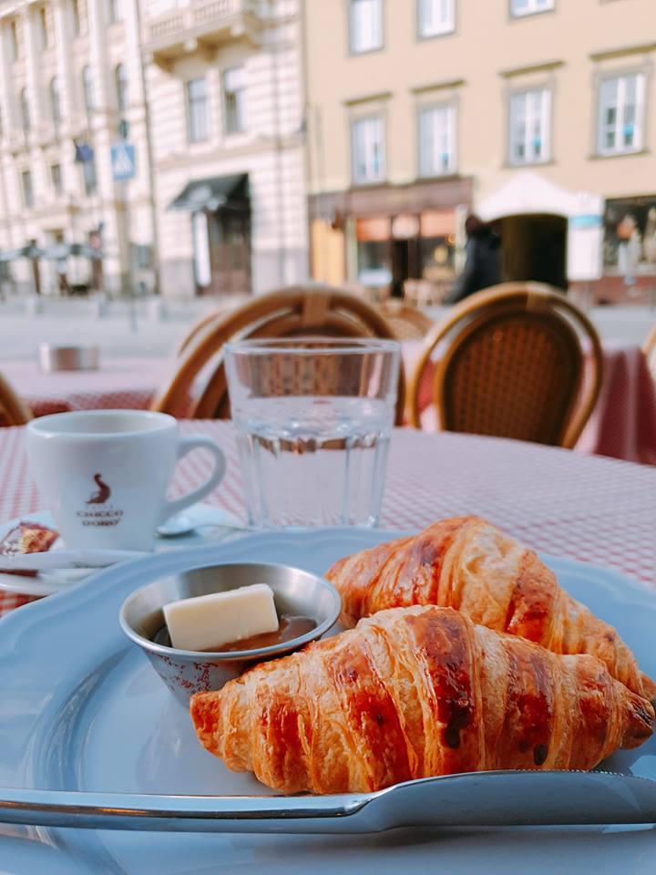 Cafe Montmartre in Vilnius