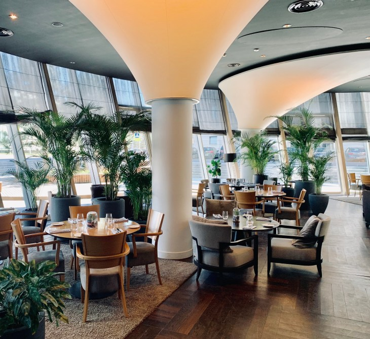 Luxury restaurant in vilnius