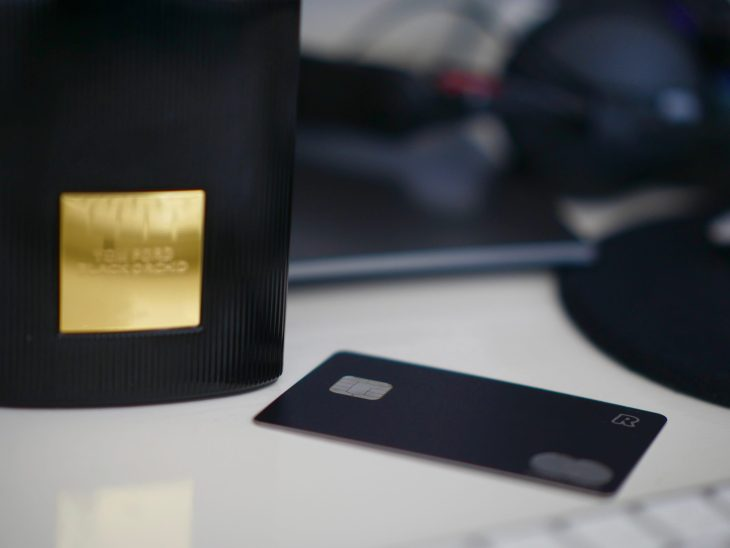 Revolut black card, alternative way to open a bank account in Lithuania