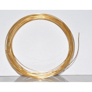 Gilt Gold Covered Copper Wire, Gold Plated Copper Wire