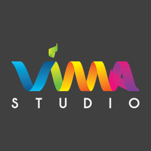 A photo of VimaStudio logo