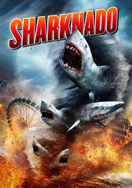 Sharknado - Portmanteau of shark and tornado