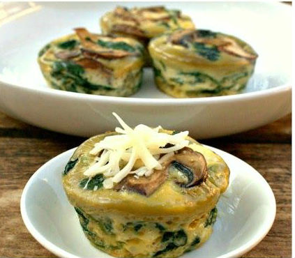 Simple Picnic Recipes Vimbly Quiche muffin