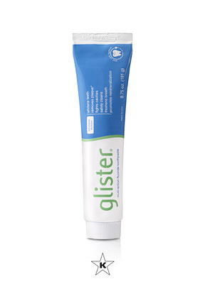 Fluoride Toothpaste: Glister Multi-Action Fluoride Toothpaste