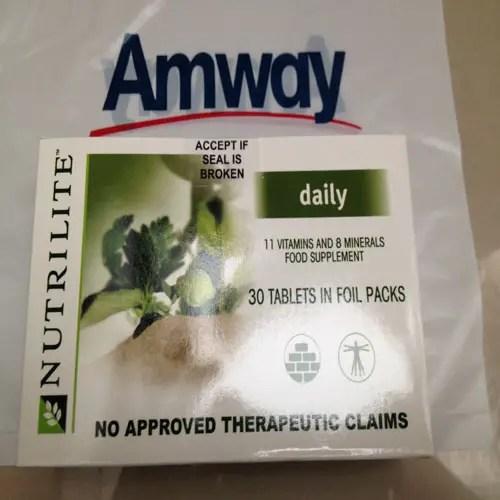 Prevent Vitamin Deficiency with Nutrilite Daily