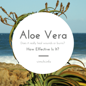 Natural Remedies for Wounds Aloe Vera