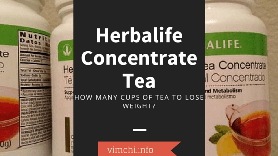 How Much Herbalife Tea Should I Drink Per Day?