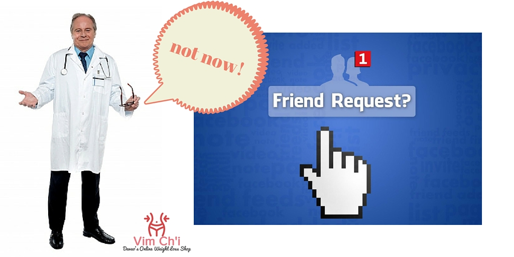 Why Your Doctors Don't Respond to Your Facebook Friend Request?