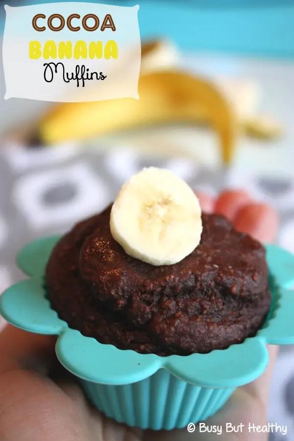 Whey Protein Recipes, cocoa, banana muffin recipe
