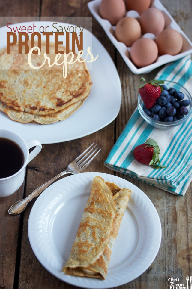 Whey Protein Recipes , protein crepes