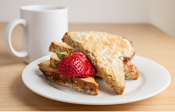 Whey Protein Recipes, french toast, protein french toast