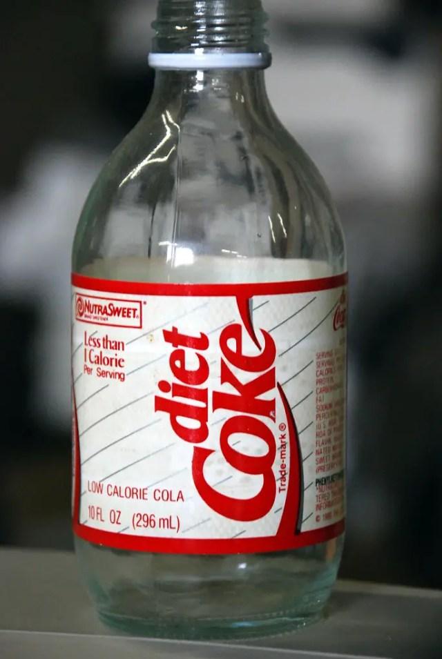 diet coke can break a fast