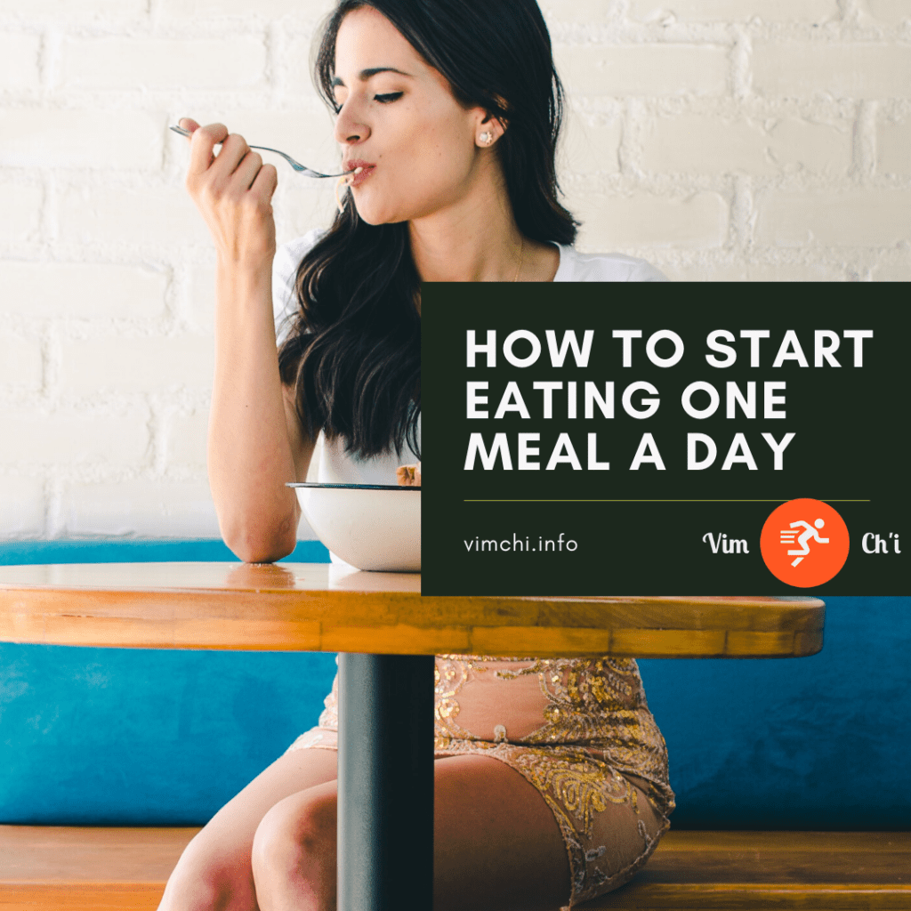 eating one meal a day how to start