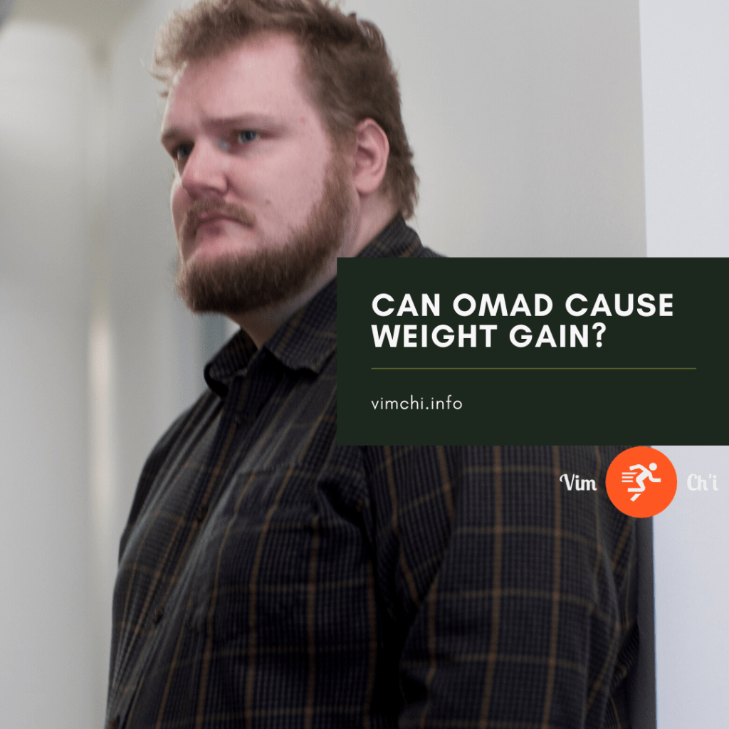 can omad cause weight gain