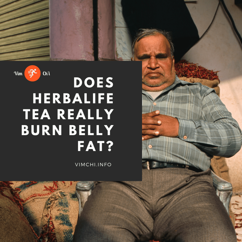 does herbalife tea really burn belly fat