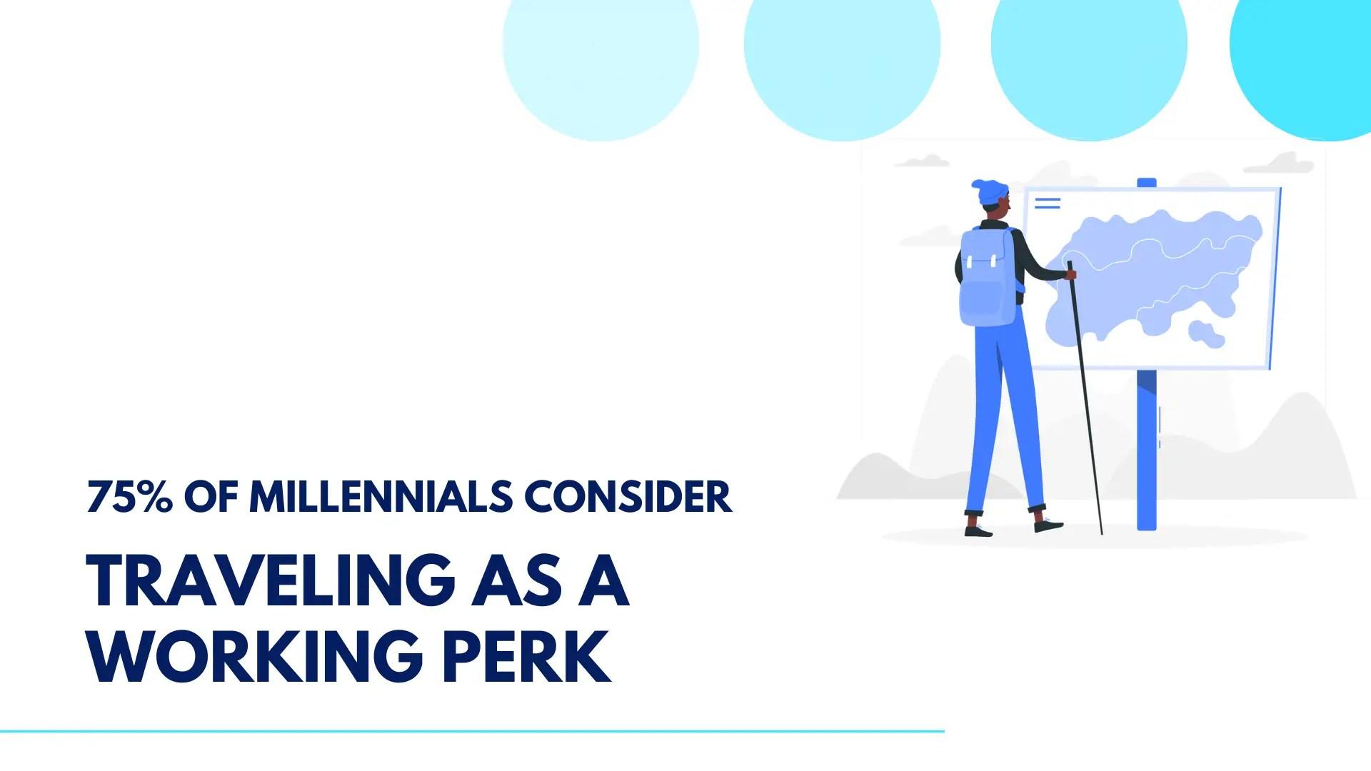 traveling as working perk