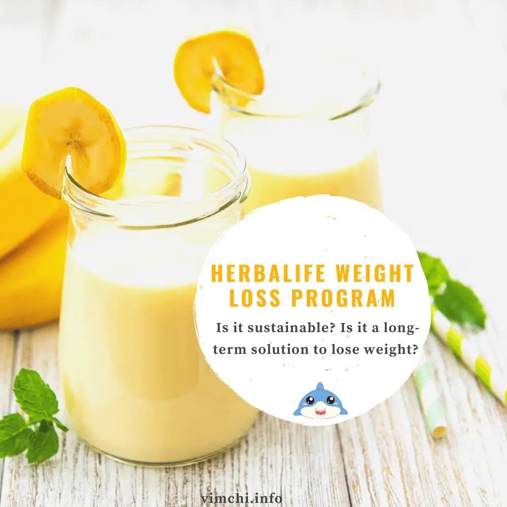 herbalife weight loss program