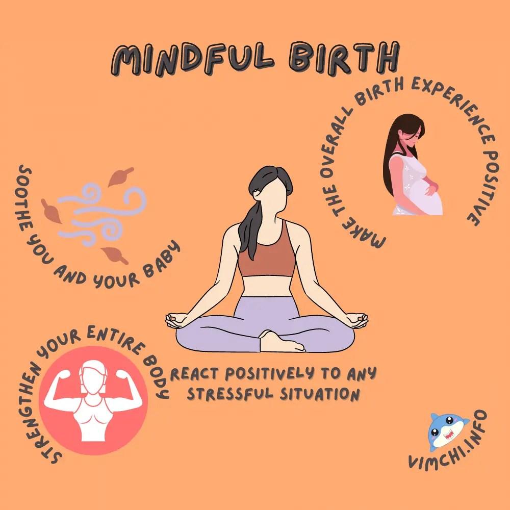 prepare for childbirth - mindful birth