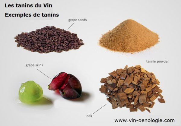 Les vins tanniques et les tanins du vin