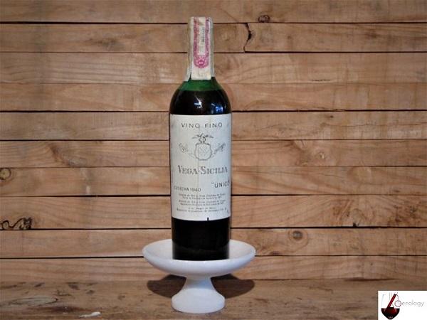 Vins qui vieillissent bien 1940 Vega Sicilia Unico Gran Reserva