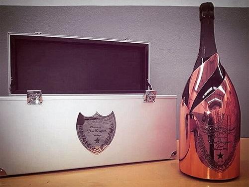 Champagne le plus cher, Champagne Dom Perignon Rosé Gold Mathusalem 1996