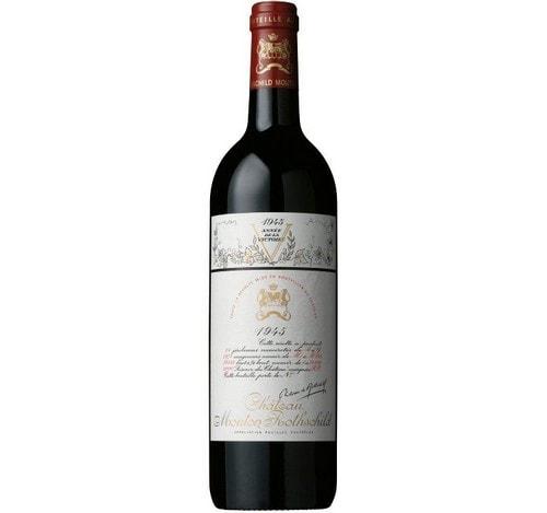 Deuxieme vin le plus cher au monde Jéroboam du Château Mouton-Rothschild 1945
