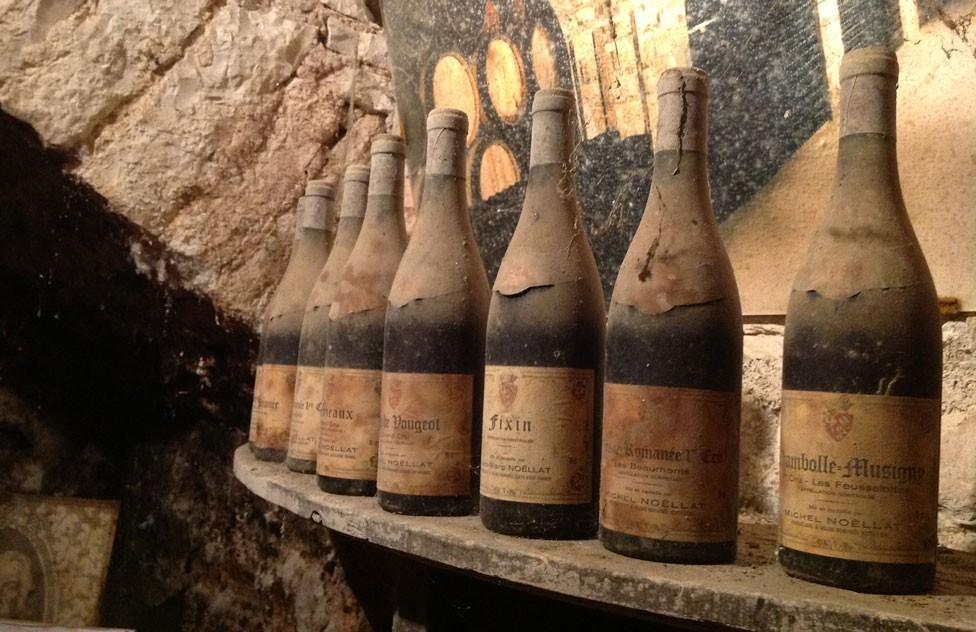 Découverte de vieux vins de Bourgogne