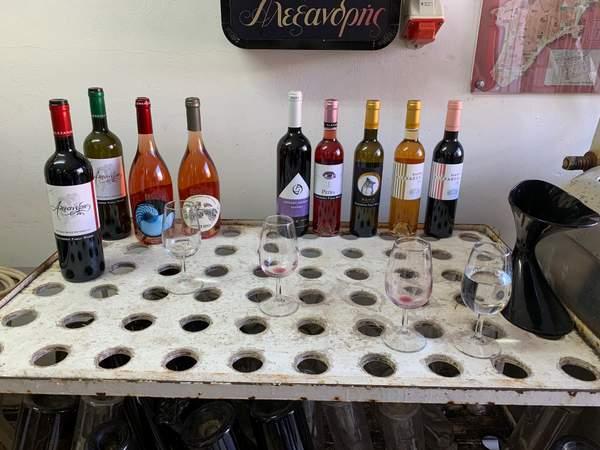 Dégustation des vins de Rhodes au domaine Alexandris Winery