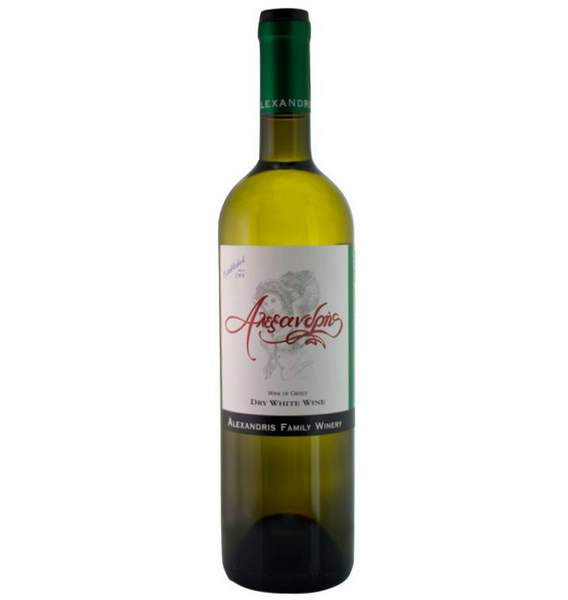 Vin Blanc Leuko 2018 Alexandris Family Rhodes
