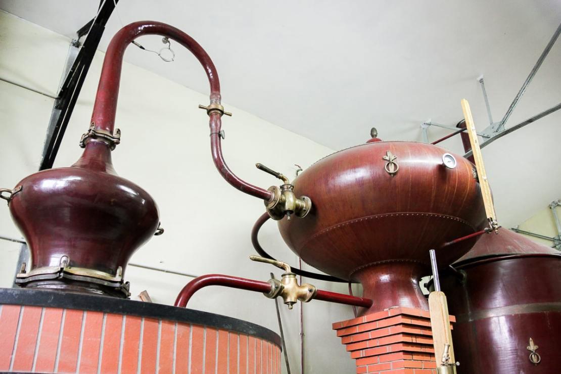 Fabrication du Pineau des Charentes