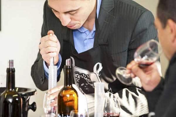 Assemblage des vins de Bordeaux