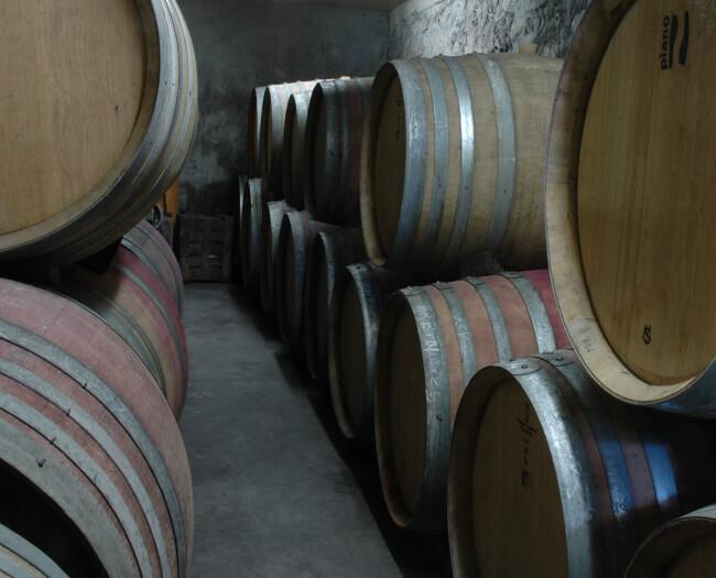 Chai du Domaine de l'Idylle - Fûts de chène
