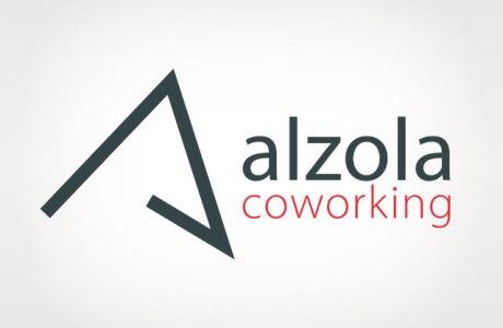 Identidad corporativa Alzola Coworking