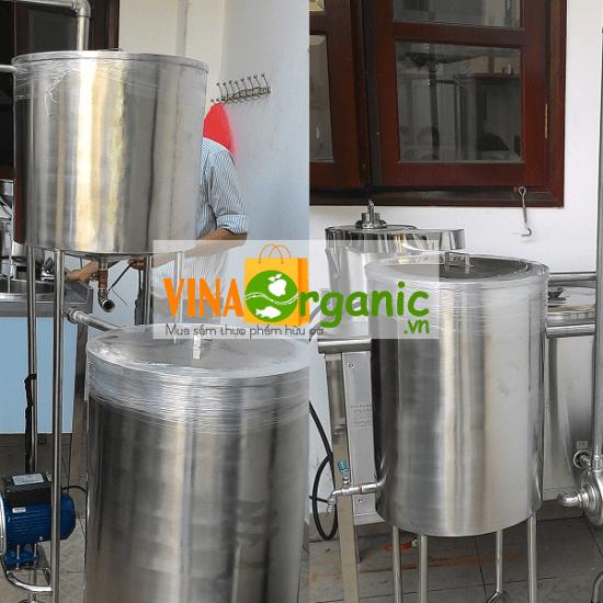 Thiết bị làm lạnh nhanh sữa – VinaOraganic