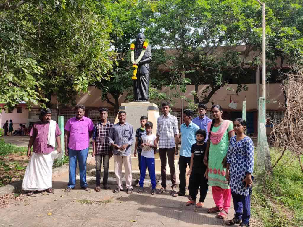தந்தை பெரியார் 142-வது பிறந்த நாள் : கடலூர் புமாஇமு மரியாதை !
